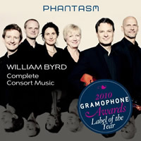 Byrd: Complete Consort Music - Phantasm