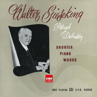 Debussy: Shorter Piano Works - Walter Gieseking
