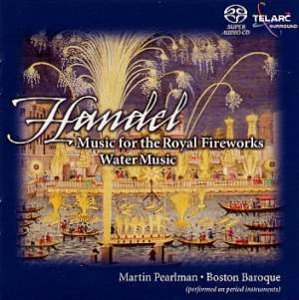 Handel: Music for Royal Fireworks, Water Music - Pearlman