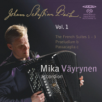 Bach: French Suites 1-3 - Väyrynen
