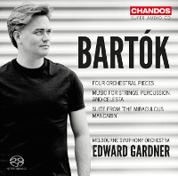 Bartok: Music for Strings, Percussion & Celeste, Miraculous Mandarin (Suite) - Gardner