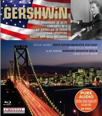 Gershwin: Rhapsody in Blue, Piano Concerto etc - Ousset, Marriner