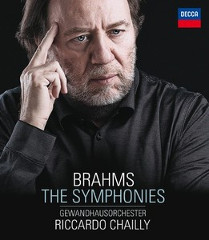 Brahms: 4 Symphonies - Chailly