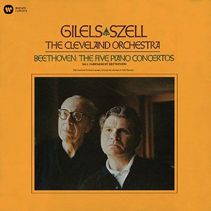 Beethoven: 5 Piano Concertos - Gilels / Szell