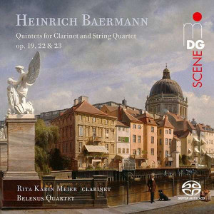 Baermann: Quintets for Clarinet & String Quartet - Meier, Belenus Quartet