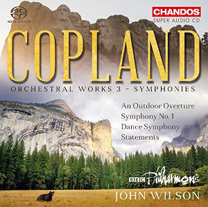 Copland: Orchestral Works, Vol. 3 (Symphonies) - Wilson