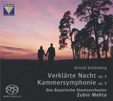 Schoenberg: Transfigured Night, Chamber Symphony No. 1 - Mehta