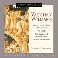 Vaughan Williams: Orchestral Works - Abravanel