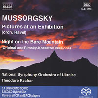 Mussorgsky: Pictures at an Exhibition, Night on the Bare Mountain - Kuchar