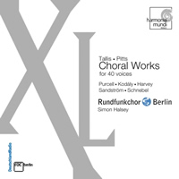 XL, Choral Works for 40 Voices - Halsey