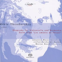 Theodorakis: Rhapsody for Cello, Ballet Suite - Moser / Bosch