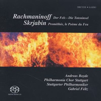 Rachmaninov: The Rock, Isle of the Dead, Scriabin: Prometheus - Feltz