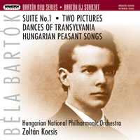 Bartok: Suite No. 1, Two Pictures etc. - Kocsis