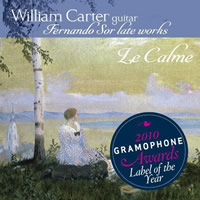 Sor: Late works for Guitar - William Carter
