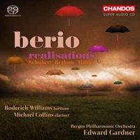 Berio: Realisations - Williams / Collins / Gardner