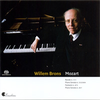 Mozart: Piano Works - Willem Brons