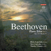 Beethoven: Piano Trios, Vol 1 - Lauriala / Latvala / Ylönen