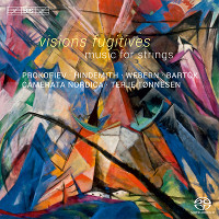 Visions Fugitives: Music for strings - Tønnesen