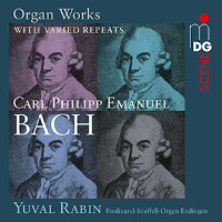 Bach, C.P.E.: Organ works with varied repeats - Rabin