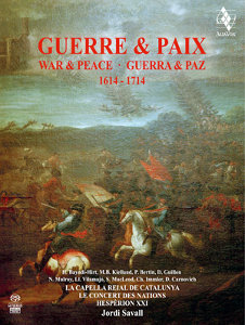 Guerre & Paix/War & Peace: 1614-1714 - Savall