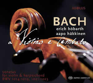 Bach: Sonatas for Violin and Harpsichord - Höbarth / Häkkinen