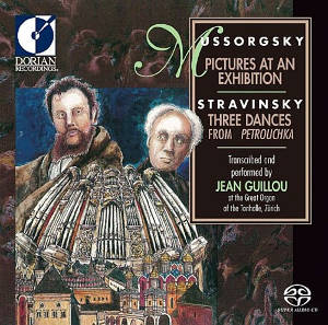 Mussorgsky: Pictures at an Exhibition, Stravinsky: 3 Dances from Petrouchka - Jean Guillou