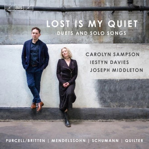 Lost is my quiet: Duets and solo songs - Sampson / Davies / Middleton