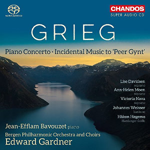 Grieg: Piano Concerto, Incidental music to Peer Gynt - Bavouzet / Gardner