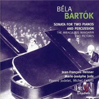 Bartok: Sonata for Two Pianos and Percussion etc. - Heisser/Jude
