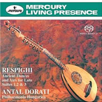 Respighi: Ancient Airs and Dances - Dorati
