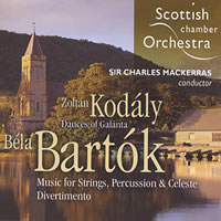 Bartok: Music for Strings, Percussion and Celeste, Divertimento / Kodaly - Mackerras