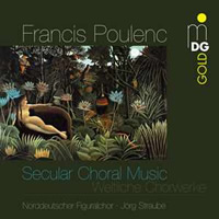 Poulenc: Secular Choral Music - Straube