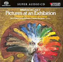 Mussorgsky: Pictures at an Exhibition etc - New Philharmonia/Mackerras