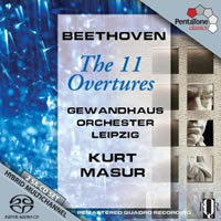 Beethoven: The 11 Overtures - Masur