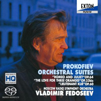 Prokofiev: Orchestral Suites - Fedoseyev