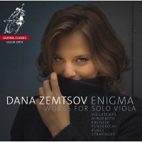 Enigma, works for solo viola - Dana Zemtsov