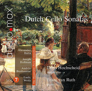 Dutch Cello Sonatas, Vol 7 - Hochscheid / van Ruth