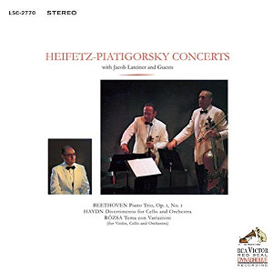 Heifetz-Piatigorsky Concerts with Lateiner and guests