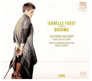 Isabella Faust plays Brahms