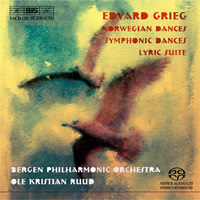 Grieg: Norwegian Dances, Symphonic Dances, Lyric Suite - Ruud