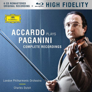 Accardo plays Paganini - complete recordings