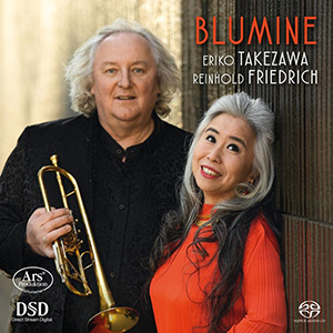 Blumine, Works for Trumpet and Piano - Takezawa, Friedrich