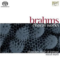 Brahms: Choral Works - Nicol Matt