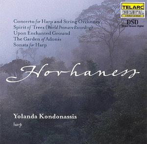 Hovhaness: Concerto for Harp and String Orchestra etc. - Kondonassis
