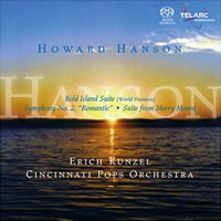 Howard Hanson: Bold Island Suite etc. - Kunzel