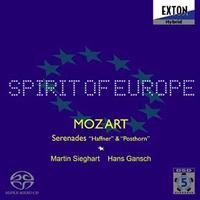 Mozart: Serenades 7 'Haffner' & 9 'Posthorn' - Spirit of Europe
