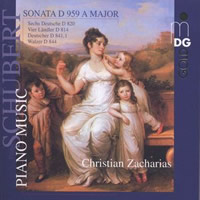 Schubert: Piano Works - Zacharias
