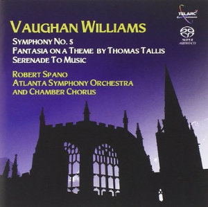 Vaughan Williams: Symphony No. 5, Tallis Fantasia - Spano