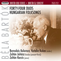 Bartok: Forty-Four Duos, Hungarian Folksongs