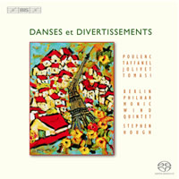 Danses et Divertissements - Berlin Philharmonic Wind Quintet / Hough
